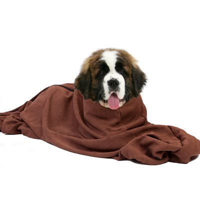 MICROFIBRE DOGGY BAG DOG TOWEL in Extra Large