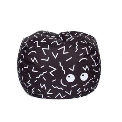 ZIGGY BEAN BAG in Black and White